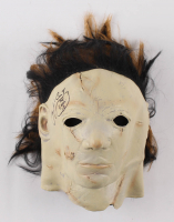 """James Jude Courtney Signed """"Halloween"""" Michael Myers Mask Inscribed """"The Shape '18"""" (Pristine Authentic Hologram) at PristineAuction.com"""