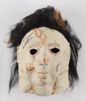 "Tyler Mane Courtney Signed ""Halloween"" Michael Myers Mask Inscribed ""Michael Myers"" (Pristine COA) at PristineAuction.com"