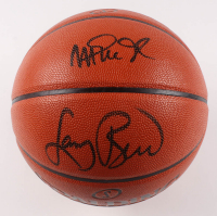 Larry Bird & Magic Johnson Signed NBA Game Ball Series Basketball (PSA COA) at PristineAuction.com