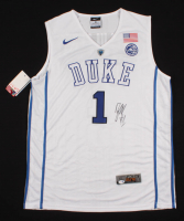 Zion Williamson Signed Duke Blue Devils Jersey (PSA COA) at PristineAuction.com