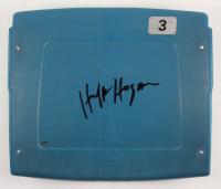Hulk Hogan Signed Silverdome Stadium Blue #3 Game-Used Seatback (Schwartz COA) at PristineAuction.com