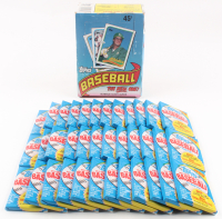"1989 Topps ""The Real One"" Bubble Gum Baseball Cards Box with (612) Cards at PristineAuction.com"