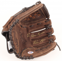 "Nolan Ryan Signed Rawlings Baseball Glove with Display Case Inscribed ""The Ryan Express"" (PSA COA) at PristineAuction.com"