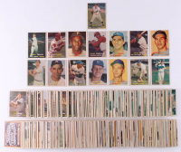 Lot of (407) 1957 Topps Baseball Cards with #95 Mickey Mantle, #302 Sandy Koufax, #328 Brooks Robinson RC, #76 Roberto Clemente, #10 Willie Mays at PristineAuction.com