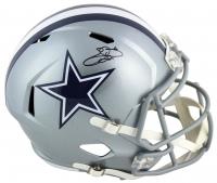 Emmitt Smith Signed Cowboys Full-Size Speed Helmet (Beckett COA & Prova Hologram) at PristineAuction.com