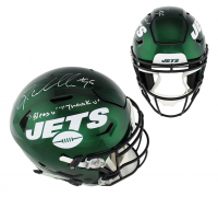 "Quinnen Williams Signed New York Jets Full-Size Authentic On-Field SpeedFlex Helmet Inscribed "" Bless U, Thank U"" (Radtke COA) at PristineAuction.com"