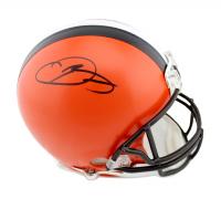 Odell Beckham Jr. Signed Browns Full-Size Authentic On-Field Helmet (Radtke COA) at PristineAuction.com