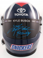 """Kyle Busch Signed NASCAR Snickers Full-Size Helmet Inscribed """"Rowdy"""" (Beckett COA) at PristineAuction.com"""