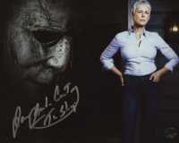 """James Jude Courtney Signed """"Halloween"""" 8x10 Photo Inscribed """"The Shape"""" (Legends COA) at PristineAuction.com"""