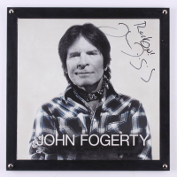 "John Fogerty Signed ""Wrote a Song for Everyone"" 14.25x14.25 Custom Framed Vinyl Record Album Cover Display Inscribed ""Rock On!"" (JSA LOA) at PristineAuction.com"