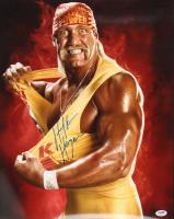 Hulk Hogan Signed WWE 16x20 Photo (PSA Hologram) at PristineAuction.com