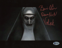 """Bonnie Aarons Signed """"The Nun"""" 8x10 Photo Inscribed """"Demon Nun Valak"""" (Beckett COA) at PristineAuction.com"""