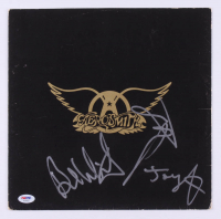 "Tom Hamilton, Joey Kramer & Brad Whitford Signed ""Aerosmith"" Vinyl Record Album Cover (PSA Hologram) at PristineAuction.com"
