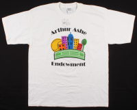 Roger Federer Signed Arthur Ashe Endowment T-Shirt (Beckett Hologram) at PristineAuction.com