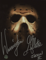 """Warrington Gillette Signed """"Friday the 13th Part II"""" 8x10 Photo Inscribed """"Jason II"""" (Legends COA) at PristineAuction.com"""