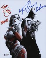 "Kevin Conroy & Tara Strong Signed ""Batman: Arkham"" 8x10 Photo Inscribed ""Batman"" & ""Harley"" (Beckett COA) at PristineAuction.com"