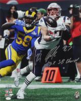 "Rob Gronkowski Signed New England Patriots 16x20 Photo Inscribed ""3X SB Champ!"" (JSA COA) at PristineAuction.com"