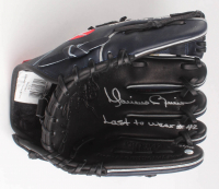 """Mariano Rivera Signed LE Career Highlight Stat Baseball Glove Inscribed """"Last to Wear #42"""" (Steiner COA & MLB Hologram) at PristineAuction.com"""