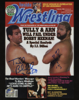 Arn Anderson & Tully Blanchard Signed WWF 8x10 Photo (Pro Player Hologram) at PristineAuction.com