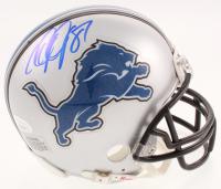 Calvin Johnson Signed Detroit Lions Mini Helmet (JSA COA) at PristineAuction.com