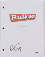 "Bob Saget Signed ""Full House: Our Very First Show"" Episode Script (PSA COA) at PristineAuction.com"