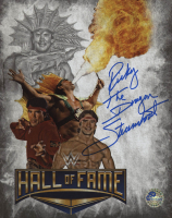 """Ricky """"The Dragon"""" Steamboat Signed WWE 8x10 Photo (Pro Player Hologram) at PristineAuction.com"""