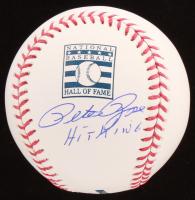 "Pete Rose Signed OML Baseball Inscribed ""Hit King"" (JSA COA) at PristineAuction.com"