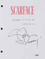 "Steve Bauer Signed ""Scarface"" Movie Script Inscribed ""Manny"" (PSA COA) at PristineAuction.com"
