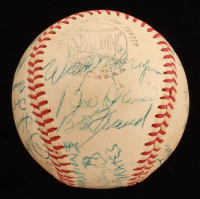 1961 Pittsburgh Pirates ONL Baseball Team-Signed by (22) with Roberto Clemente, Bobby Shantz, Smokey Burgess, Bob Friend, Elroy Face (JSA ALOA) at PristineAuction.com