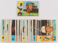Lot of (35) 1960 Topps Baseball Cards with #10 Ernie Banks at PristineAuction.com