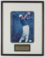 Gary Player Signed 14.75x18.75 Custom Framed Photo Display (JSA COA) at PristineAuction.com