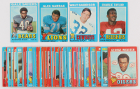 Lot of (76) 1971 Topps Football Cards with #26 Charley Taylor, #8 Walt Garrison RC, #150 Gale Sayers, #41 Alex Karras at PristineAuction.com