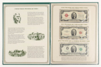 Two-Dollar Notes Folio Set of (7) $2 Two-Dollar Notes at PristineAuction.com