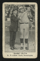 1922 E121 American Caramel Series of 120 #86D Babe Ruth Holding Bird at PristineAuction.com