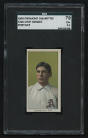 1909-11 T206 #34 Chief Bender / Portrait (SGC 5.5) at PristineAuction.com
