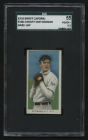 1909-11 T206 #307 Christy Mathewson / Dark Cap (SGC 4.5) at PristineAuction.com