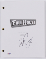 """Bob Saget Signed """"Full House: Our Very First Show"""" Episode Script (PSA COA) at PristineAuction.com"""