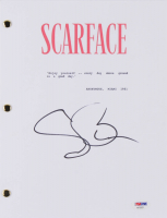 "Steven Bauer Signed ""Scarface"" Movie Script (PSA COA) at PristineAuction.com"