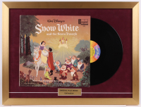 "Walt Disney's ""Snow White"" 18x24 Custom Framed Vinyl Record Display at PristineAuction.com"