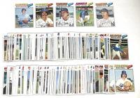 Lot of (200) 1977 Topps Baseball Cards with #630 Bert Blyleven, #27 Bill Buckner, #20 Graig Nettles, #570 Bobby Bonds, #598 Sparky Lyle at PristineAuction.com