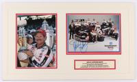 Dale Earnhardt Sr. NASCAR 14x24 Custom Matted Photo Display (JSA COA) at PristineAuction.com