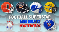 Schwartz Sports Football Superstar Signed Mystery Box Mini Helmet - Series 18 - (Limited to 100) at PristineAuction.com