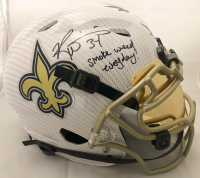 "Ricky Williams Signed New Orleans Saints Full-Size Authentic On-Field Hydro Dipped Vengeance Helmet Inscribed ""Smoke Weed Everyday!"" (JSA COA) at PristineAuction.com"