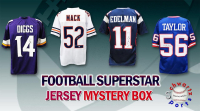 Schwartz Sports Football Superstar Signed Mystery Box Football Jersey Series 22 - (Limited to 100) at PristineAuction.com