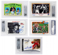 Triple Play Legends Autographed Sports Card Mystery Box - Series 2 (3 Signed Encapsulated Cards In Every Box!!) at PristineAuction.com