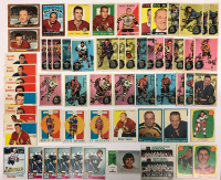 Lot of (85) Vintage Hockey Cards With (1) 1958/59 Topps, (32) 1959/60 Topps, (10) 1960-61 Topps & Assorted 1973 Topps & O-Pee-Chee Thru 1979 at PristineAuction.com