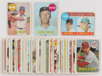 Lot of (66) 1969 Topps Baseball Cards with #311 Sparky Lyle RC, #450 Billy Williams, #99 Twins Rookies / Danny Morris / Graig Nettles at PristineAuction.com