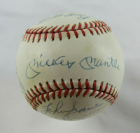 1953 New York Yankees OAL Baseball Team-Signed By (16) With Mickey Mantle, Whitey Ford, Yogi Berra (JSA LOA) at PristineAuction.com