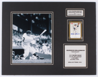 Harmon Killebrew Signed Minnesota Twins 14x18 Custom Matted Baseball Card Display with Photo (Fleer Corp. Guarantee & SOP Hologram) at PristineAuction.com