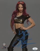 "Sasha Banks Signed WWE 8x10 Photo Inscribed ""Legit Boss"" (JSA COA) at PristineAuction.com"